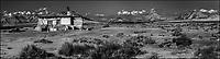 Europe, Espagne, Navarre, env d'Arguedas: Parc Naturel des Bardenas Reales, Blanca Baja, Cabane de berger  // Europe, Spain, Navarre, near Arguedas: Bardenas Reales Natural Park,White Bardena, Shepherd's hut