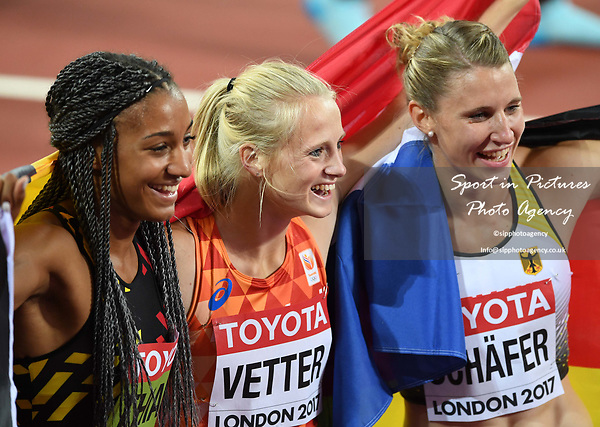 . IAAF world athletics championships. London Olympic stadium. Queen Elizabeth Olympic park. Stratford. London. UK. 06/08/2017. ~ MANDATORY CREDIT Garry Bowden/SIPPA - NO UNAUTHORISED USE - +44 7837 394578