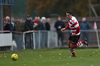 Tom Kavanagh of Kingstonian advances during Kingstonian vs Lewes, BetVictor League Premier Division Football at King George's Field on 16th November 2019