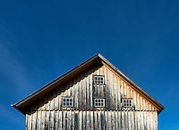 Wooden barn detail, Vermont, USA