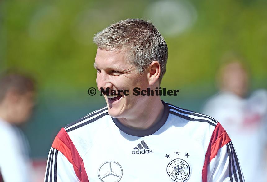 Bastian Schweinsteiger - Training der Deutschen Nationalmannschaft zur WM-Vorbereitung in St. Martin