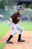 December 28, 2009:  Adam Keeney (09) of the Baseball Factory 49ers team during the Pirate City Baseball Camp & Tournament at Pirate City in Bradenton, FL.  Photo By Mike Janes/Four Seam Images