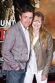 "TV presenter Richard Hammond with wife Amanda Etheridge. First World Premiere of the new Tom Cruise and Emily Blunt movie ""Edge of Tomorrow"" at the BFI IMAX cinema in London, United Kingdom. As the film is about reliving the events of one day over and over in an epic battle to save the world, the stars of ""Edge of Tomorrow"" take part in a worldwide event when, for the first time ever, three fan premieres will be held in three different countries in just one day."