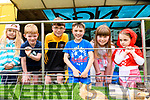 Visiting the kittens at the Mobile farm in the Annual Glencar Cattle Show on Sunday<br /> l-r: Moya O'Connor, Cormac Doherty, Sean Doherty, Ronan Mc Donnell, Ciara Doherty, Caoimhe O'Shea.