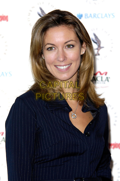 EMMA CROSBY .At the Women of the Year Lunch,  Intercontinental Hotel, London, England, UK, October 12th 2009..portrait headshot navy blue pinstripe shirt .CAP/CJ.©Chris Joseph/Capital Pictures.