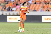 Houston, TX - Saturday Sept. 03, 2016: Carli Lloyd during a regular season National Women's Soccer League (NWSL) match between the Houston Dash and the Orlando Pride at BBVA Compass Stadium.