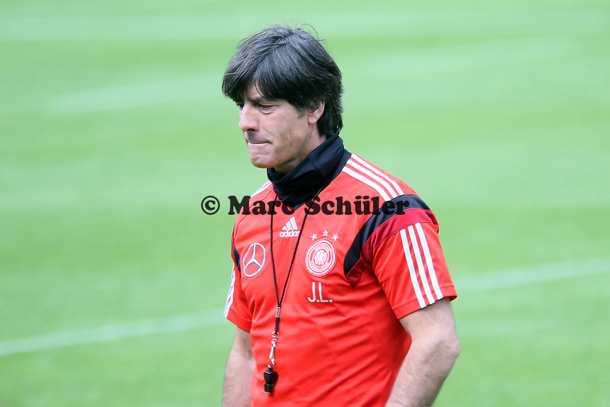 Bundetrainer Joachim Löw - Training der Deutschen Nationalmannschaft   im Rahmen der WM-Vorbereitung in St. Martin