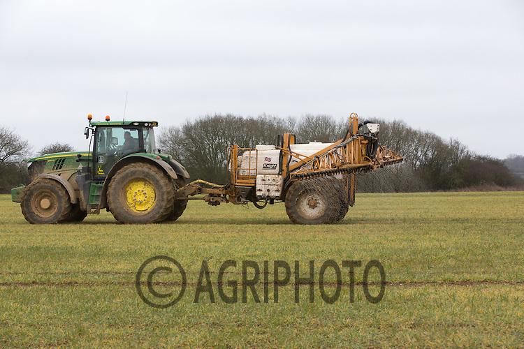 Applying liquid nitrogen to Winter Wheat<br /> Picture Tim Scrivener 07850 303986 <br /> scrivphoto@btinternet.com<br /> &hellip;.covering agriculture in the UK&hellip;.