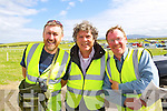 Enjoying Dingle Races on Friday were from left: Ted Browne, Joe O'Shea and Peadar Hegarty