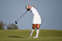 Youngin Chun (USA) watches her tee shot on 2 during the round 3 of the Volunteers of America Texas Classic, the Old American Golf Club, The Colony, Texas, USA. 10/5/2019.<br /> Picture: Golffile   Ken Murray<br /> <br /> <br /> All photo usage must carry mandatory copyright credit (© Golffile   Ken Murray)