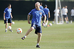 12 March 2008: United States senior international head coach Bob Bradley. The United States U-23 Men's National Team practiced at the Tampa Bay Buccaneers training facility in Tampa, FL on an off day in the 2008 CONCACAF Men's Olympic Qualifying Tournament.