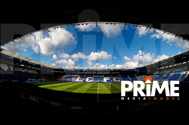 General view of the Stadium during the Premier League match between Leicester City and Southampton at the King Power Stadium, Leicester, England on 2 October 2016. Photo by Andy Rowland.