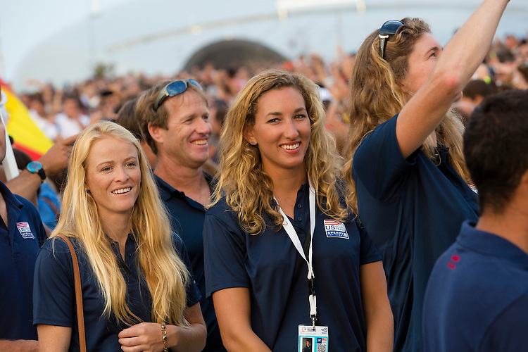 20140911, Santander, Spain: 2014 ISAF SAILING WORLD CHAMPIONSHIPS - More than 1,250 sailors in over 900 boats from 84 nations will compete at the Santander 2014 ISAF Sailing World Championships from 8-21 September 2014. The best sailing talent will be on show and as well as world titles being awarded across ten events 50% of Rio 2016 Olympic Sailing Competition places will be won based on results in Santander.. Photo: Mick Anderson/SAILINGPIX.DK. Keywords: Sailing, water, sport, ocean, boats, olympic, dinghy, dinghies, crew, team, sail. Filename: _49A1072.CR2.