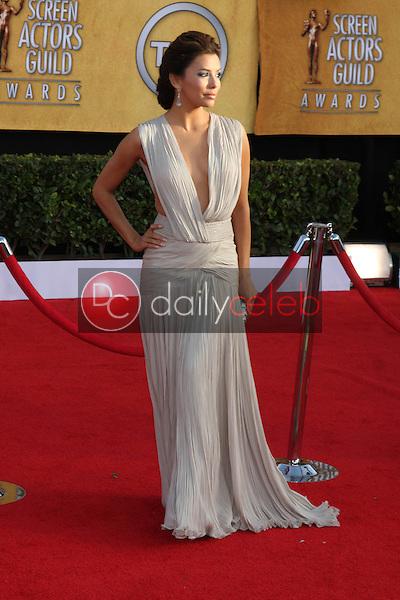 LOS ANGELES - JAN 30:  Eva Longoria arrives at the 2011 Screen Actors Guild Awards  at Shrine Auditorium on January 30, 2011 in Los Angeles, CA