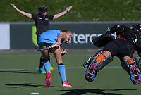 Action from the women's National Hockey League match between Midlands and Northland at National Hockey Stadium in Wellington, New Zealand on Thursday, 20 September 2018. Photo: Dave Lintott / lintottphoto.co.nz