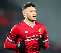 Liverpool's Alex Oxlade-Chamberlain<br /> <br /> Photographer Alex Dodd/CameraSport<br /> <br /> The Premier League - Liverpool v Manchester City - Sunday 14th January 2018 - Anfield - Liverpool<br /> <br /> World Copyright &copy; 2018 CameraSport. All rights reserved. 43 Linden Ave. Countesthorpe. Leicester. England. LE8 5PG - Tel: +44 (0) 116 277 4147 - admin@camerasport.com - www.camerasport.com