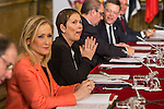 Uxue Barkos, president of Navarra during the meeting with the Presidents of 17 autonomous governments at the Senate in Madrid, January  17, 2017. (ALTERPHOTOS/Rodrigo Jimenez)