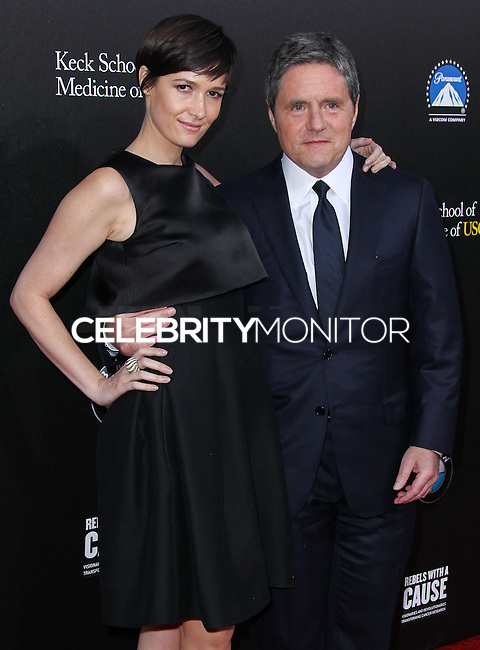 HOLLYWOOD, LOS ANGELES, CA, USA - MARCH 20: Cassandra Grey, Brad Grey at the 2nd Annual Rebels With A Cause Gala Honoring Larry Ellison held at Paramount Studios on March 20, 2014 in Hollywood, Los Angeles, California, United States. (Photo by Xavier Collin/Celebrity Monitor)