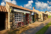 Village store at  Ryedale Folk Museum, Hutton Le Hole, North Yorks Moors National Park, Yorkshire, England