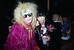 Michael Monroe & Stiv Bators.