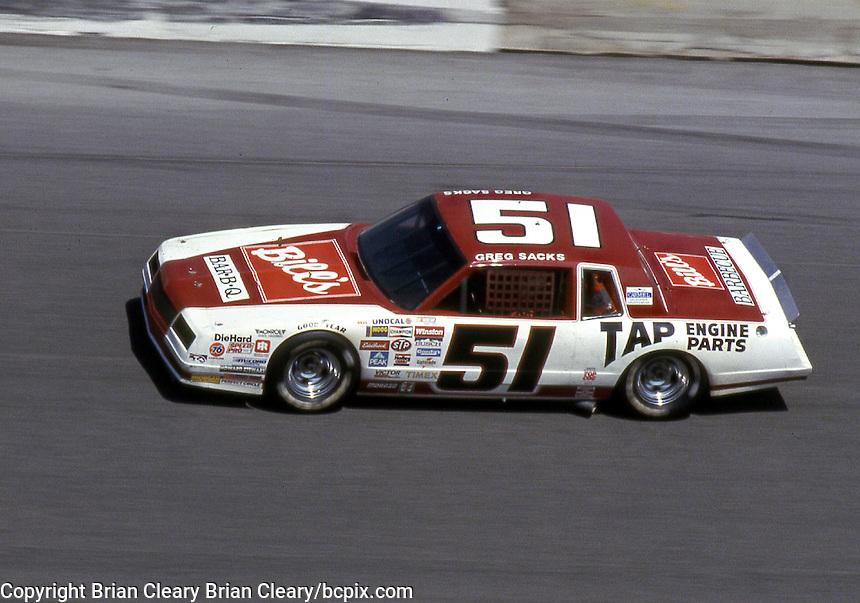 Daytona 500, Daytona International Speedway, Daytona Beach, FL, February 1985. (Photo by Brian Cleary/www.bcpix.com)