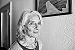 Gen&egrave;ve, le 16.10.2017<br /> Portrait de la chor&eacute;graphe et danseuse No&eacute;mi Lapzeson dans son logement genevois de la Ruelle du Midi.<br /> Le Courrier / &copy; C&eacute;dric Vincensini