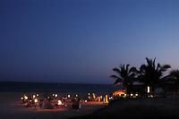 Romantic dinner on the beach of Casa del Mar, Los Cabos, Baja California, Mexico