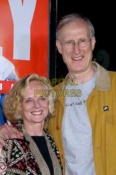 "JAMES CROMWELL & WIFE.World Premiere of ""The Longest Yard"" held at Grauman's Chinese Theatre..May 19th, 2005.Photo Credit: Jacqui Wong/AdMedia.headshot portrait married husband.www.capitalpictures.com.sales@capitalpictures.com.© Capital Pictures."