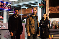 Nabhaan Rizwan, Paddy Considine, Bel Powley <br /> Informer (2018 - )<br /> *Filmstill - Editorial Use Only*<br /> CAP/RFS<br /> Image supplied by Capital Pictures