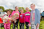 Enjoying the Spa NS Donal Walsh  6km Challenge Walk or Run on Sunday were Sarah O'Sullivan, Maeve Hannafin, Siúna Crowe, Eabha Murphy and Orla Sheehy from Tralee