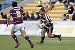 John Fonokalafi makes a run during the Air NZ Cup game between the Counties Manukau Steelers and Southland played at Mt Smart Stadium on 3rd September 2006. Counties Manukau won 29 - 8.