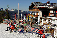 "Gasthaus am Söller auf dem Söllereck bei  Oberstdorf im Allgäu, Bayern, Deutschland <br /> inn "" Gasthaus am Söller"" on Mt.  Sellereck  near Oberstdorf, Allgäu, Bavaria, Germany"