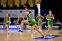 Pulse' Ameliaranne Ekenasio in action during the ANZ Premiership - Pulse v Magic at TSB Bank Arena, Wellington, New Zealand on Sunday 21 April 2019. <br /> Photo by Masanori Udagawa. <br /> www.photowellington.photoshelter.com