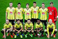 The Phoenix starting XI for the A-League football match between Wellington Phoenix and Newcastle Jets at Westpac Stadium in Wellington, New Zealand on Sunday, 26 March 2017. Photo: Mike Moran / lintottphoto.co.nz