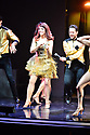 HOLLYWOOD, FL - FEBRUARY 25: Valentin Chemrkovskiy, Kate Flannery and Pasha Pashkov perform on stage during 'Dancing With The Stars Live' at Hard Rock Live at Seminole Hard Rock Hotel & Casino Hollywood on February 25, 2020 in Hollywood, Florida.  ( Photo by Johnny Louis / jlnphotography.com )