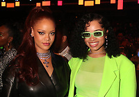 LOS ANGELES, CA - JUNE 23: Rihanna and Ella Mai at the 2019 BET Awards Show at the Microsoft Theater in Los Angeles on June 23, 2019. Credit: Walik Goshorn/MediaPunch