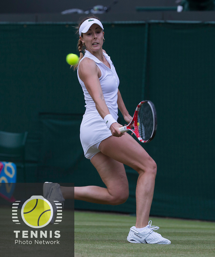 ALISON RISKE (USA)<br /> <br /> The Championships Wimbledon 2014 - The All England Lawn Tennis Club -  London - UK -  ATP - ITF - WTA-2014  - Grand Slam - Great Britain -  28th June 2014. <br /> <br /> © Tennis Photo Network