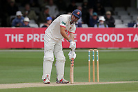 Sir Alastair Cook of Essex takes guard during Essex CCC vs Kent CCC, Specsavers County Championship Division 1 Cricket at The Cloudfm County Ground on 29th May 2019