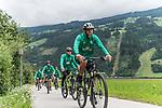 09.07.2019, Zell am Ziller, AUT, TL Werder Bremen Zell am Ziller / Zillertal Tag 05<br /> <br /> im Bild<br /> Niclas Füllkrug / Fuellkrug (Neuzugang Werder Bremen #11), <br /> auf Mountainbike bei Radtour im Zillertal <br /> <br /> Foto © nordphoto / Ewert