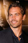 "UNIVERSAL CITY, CA. - March 12: Paul Walker arrives at the Los Angeles premiere of ""Fast & Furious"" at the Gibson Amphitheatre on March 12, 2009 in Universal City, California."