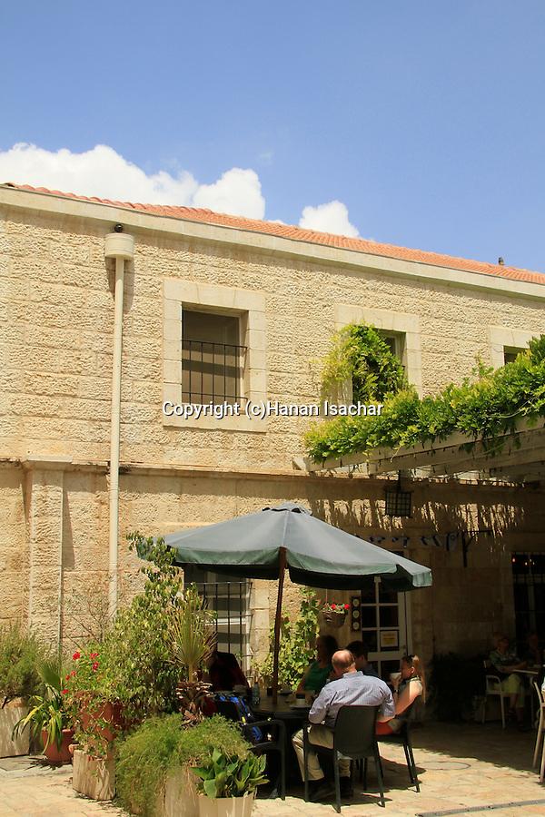 Israel, Jerusalem Old City, Christ Church coffee shop