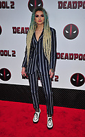 New York, NY - May 14: Zhavia attends the 'Deadpool 2' screening at AMC Loews Lincoln Square on May 14, 2018 in New York City..  <br /> CAP/MPI/PAL<br /> &copy;PAL/MPI/Capital Pictures