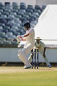 November 4th 2017, WACA Ground, Perth Australia; International cricket tour, Western Australia versus England, day 1; England player Joe Root in batting action