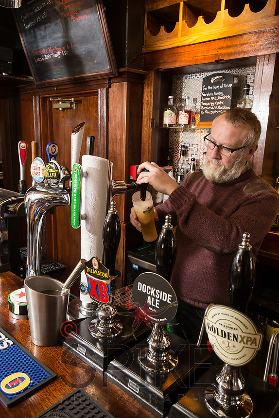Graeme Beal, Licencee of The Horse & Groom, Linby, Nottinghamshire