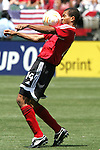 9 June 2007: Trinidad and Tobago's Darryl Roberts. The United States Men's National Team defeated the National Team of Trinidad & Tobago 2-0 at the Home Depot Center in Carson, California in a first round game in the CONCACAF Gold Cup.