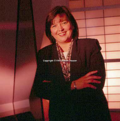 Christine Tsingos, VP, Treasurer - Autodesk: Executive portrait photographs by San Francisco - corporate and annual report - photographer Robert Houser.