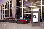 Passengers sleep in the front lobby of the Maynard H. Jackson Jr. International Terminal at Hartsfield–Jackson Atlanta International Airport, in Atlanta, Georgia on August 28, 2013.