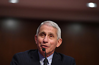 Dr. Anthony Fauci, director of the National Institute for Allergy and Infectious Diseases, testifies before the Senate Health, Education, Labor and Pensions (HELP) Committee on Capitol Hill in Washington DC on Tuesday, June 30, 2020.  Fauci and other government health officials updated the Senate on how to safely get back to school and the workplace during the COVID-19 pandemic. <br /> Credit: Kevin Dietsch / Pool via CNP /MediaPunch