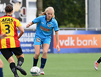 20191005  -  Diksmuide , BELGIUM :  FWDM's Celine Leeman  pictured during a footballgame between the womensoccer teams from Famkes Westhoek Diksmuide Merkem and KV Mechelen Ladies A , on the 5th matchday in the first division , 1e nationale , in Diksmuide - Belgium - saturday 5th october 2019 . PHOTO DAVID CATRY   Sportpix.be
