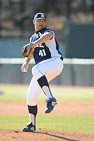 Matt Jebb (Pitcher) Maine Black Bears (Photo by Tony Farlow/Four Seam Images)